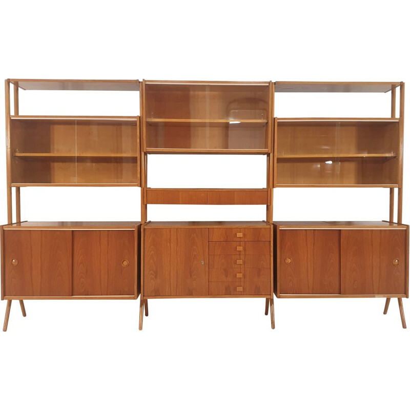 Vintage modular wall unit by 1970s