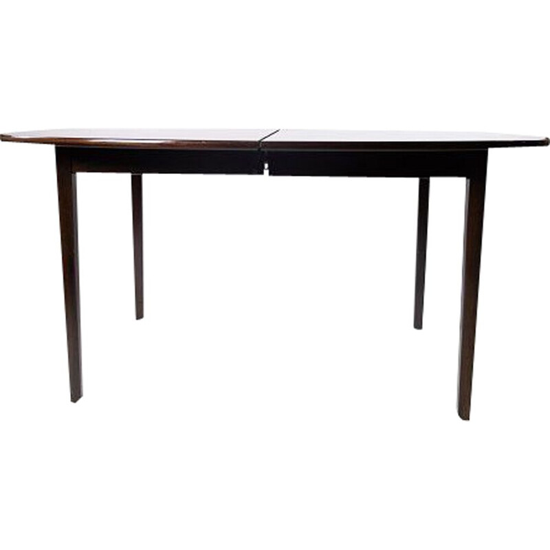 Vintage Rungstedlund dining table in mahogany by Ole Wanscher & P. Jeppesen 1960s