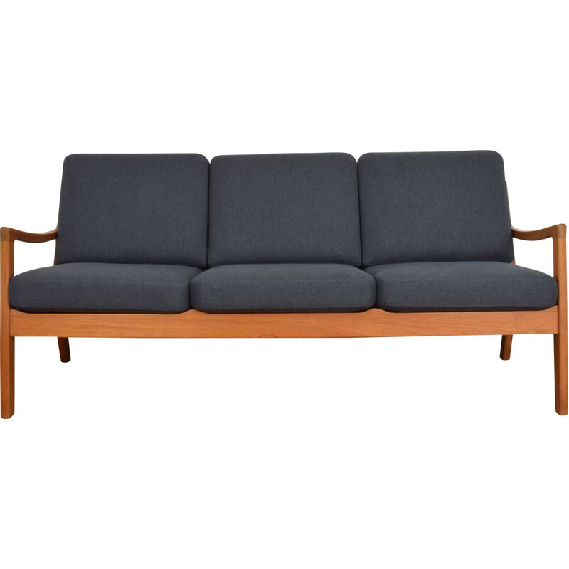 Vintage Teak Senator Sofa By Ole Wanscher for Poul Jeppesens, Danish 1950s