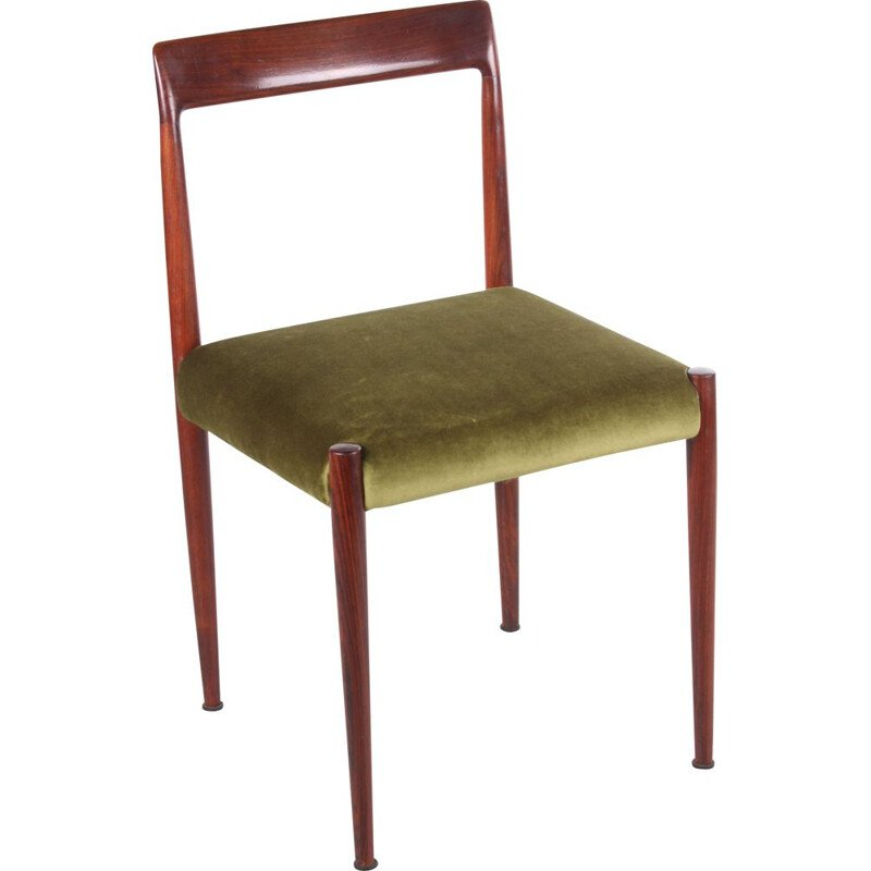 Vintage model 77 dining chair by Niels Otto Moller, Denmark 1960s