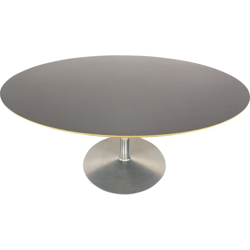 Vintage Oval Dining Table by Pierre Paulin for Artifort 1980s