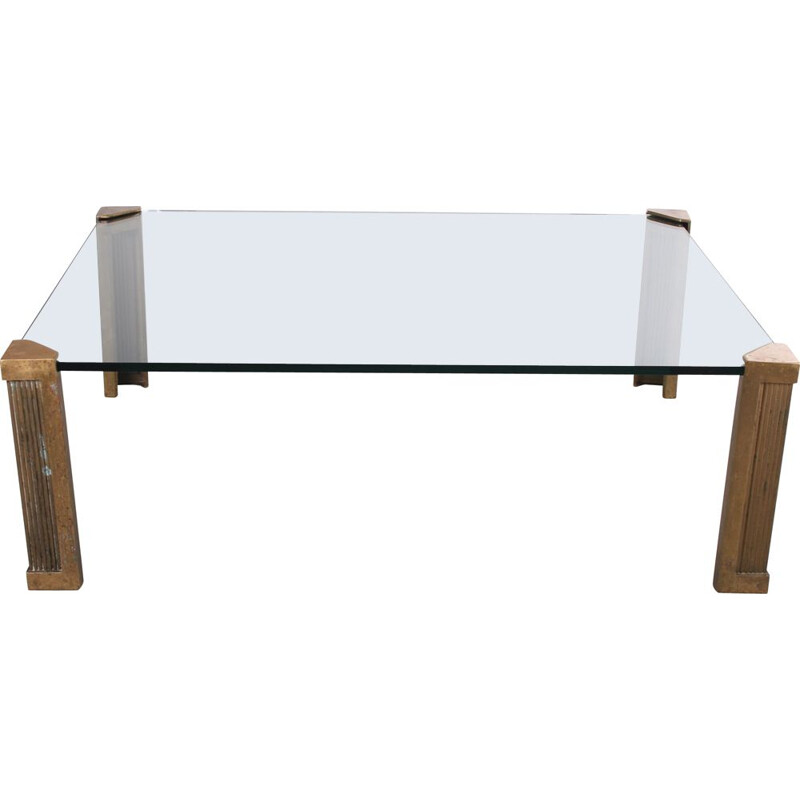 Vintage Coffee table T14 by Peter Ghyczy 1970s