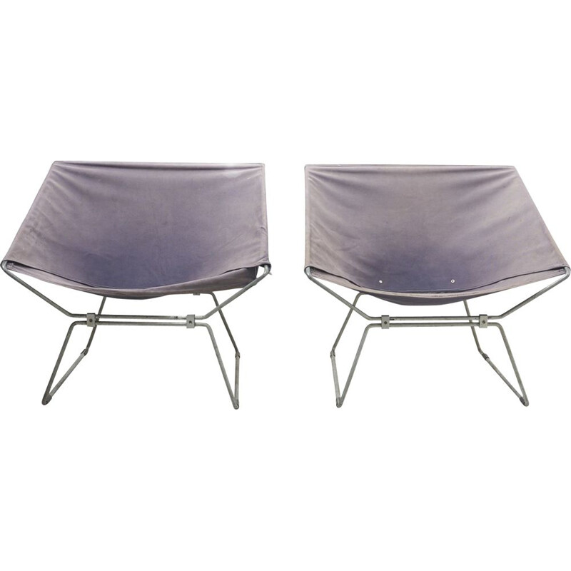 Pair of vintage armchairs by Pierre Paulin for AP Originals 1950