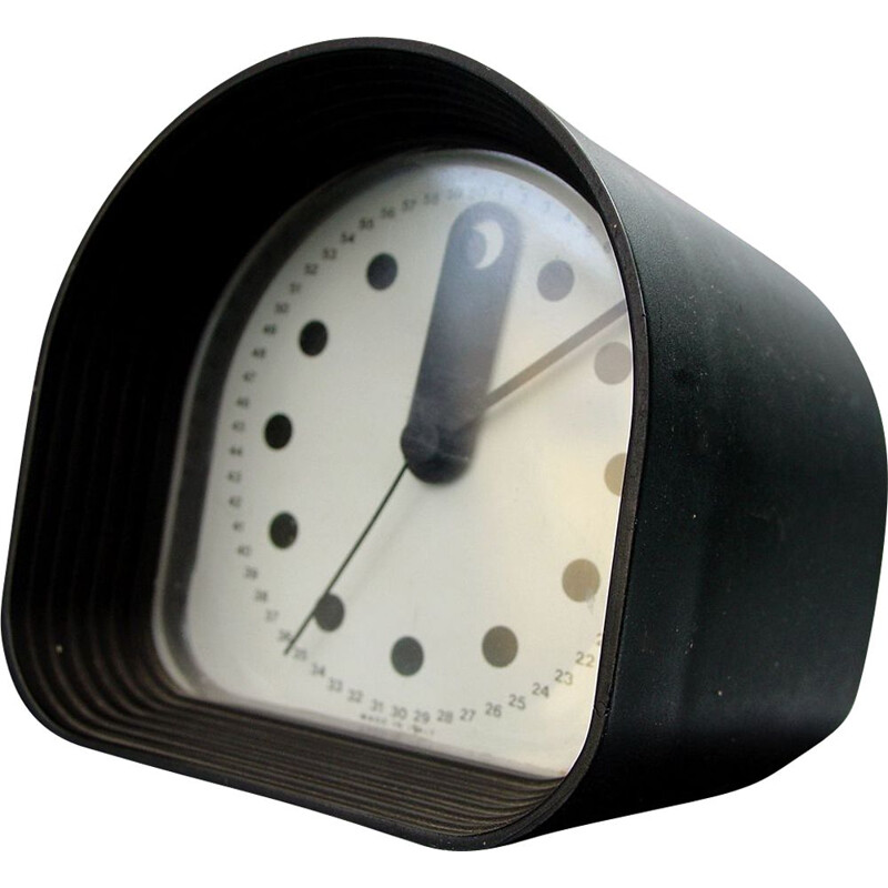 Vintage Optic table clock by Joe Colombo for Ritz Italora 1970