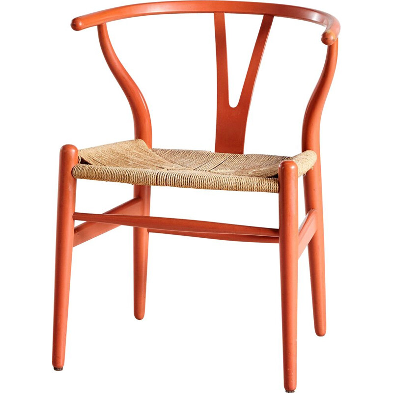 Vintage CH24 Side Chair by Hans J. Wegner for Carl Hansen & Son 1960s