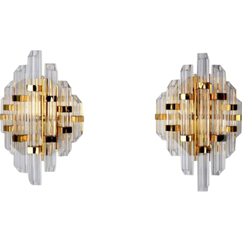 Pair of vintage sconces by Paolo Venini, Italy 1970s