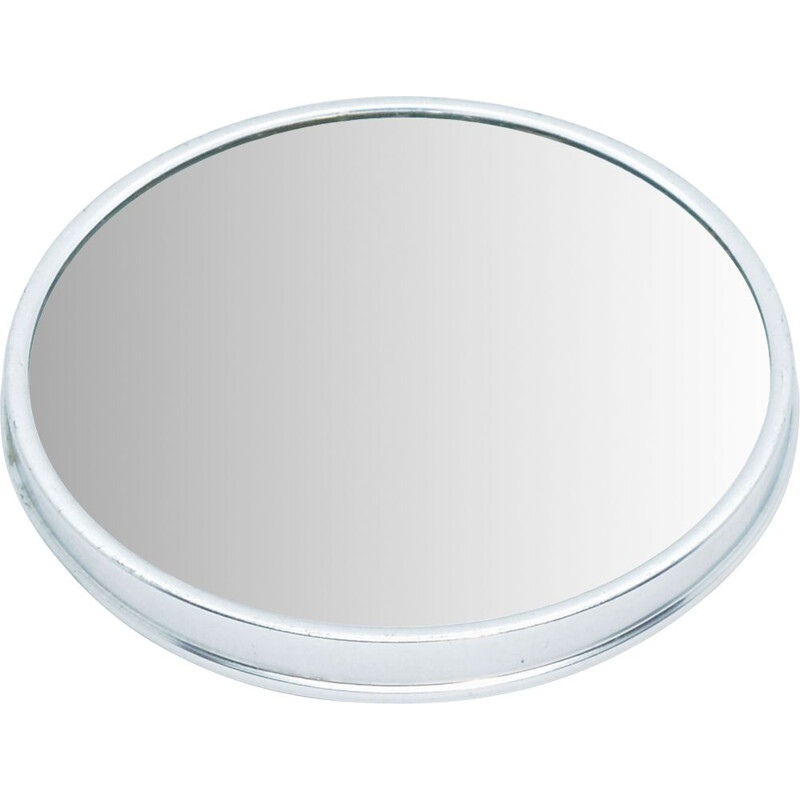 Vintage Revolving tray mirror springform cake tin, Germany 1960s