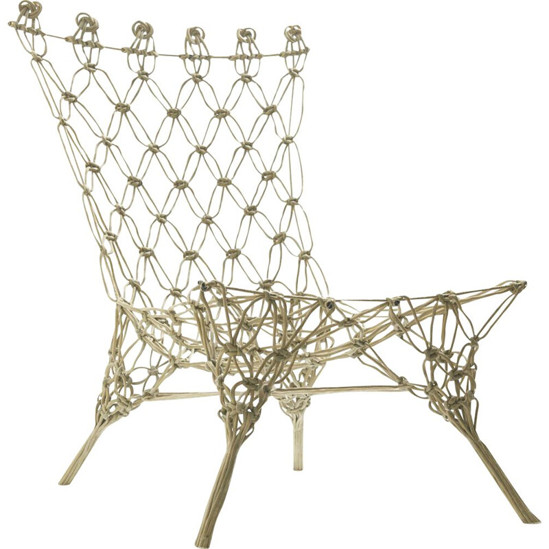 """Vintage """"Knotted"""" Chair by Marcel Wander, Netherlnds 1990s"""