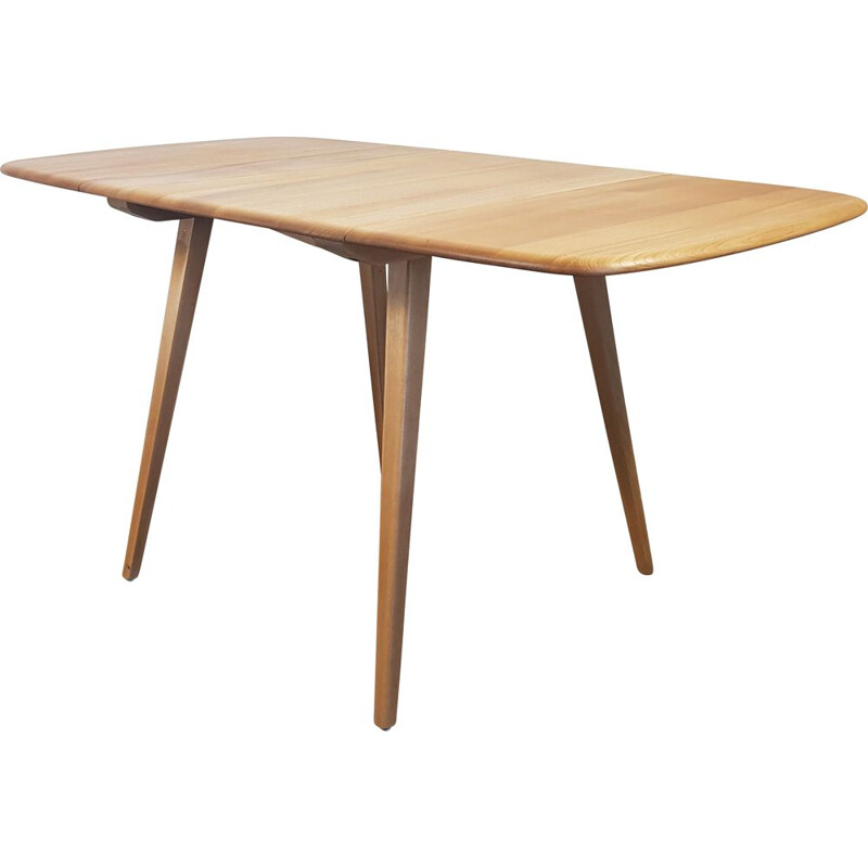 Vintage Ercol Drop Leaf Dining Table 1960s