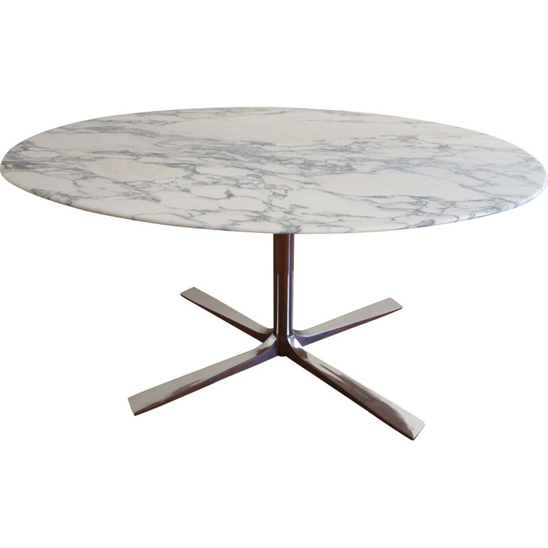 Vintage Roche Bobois marble table 1960s