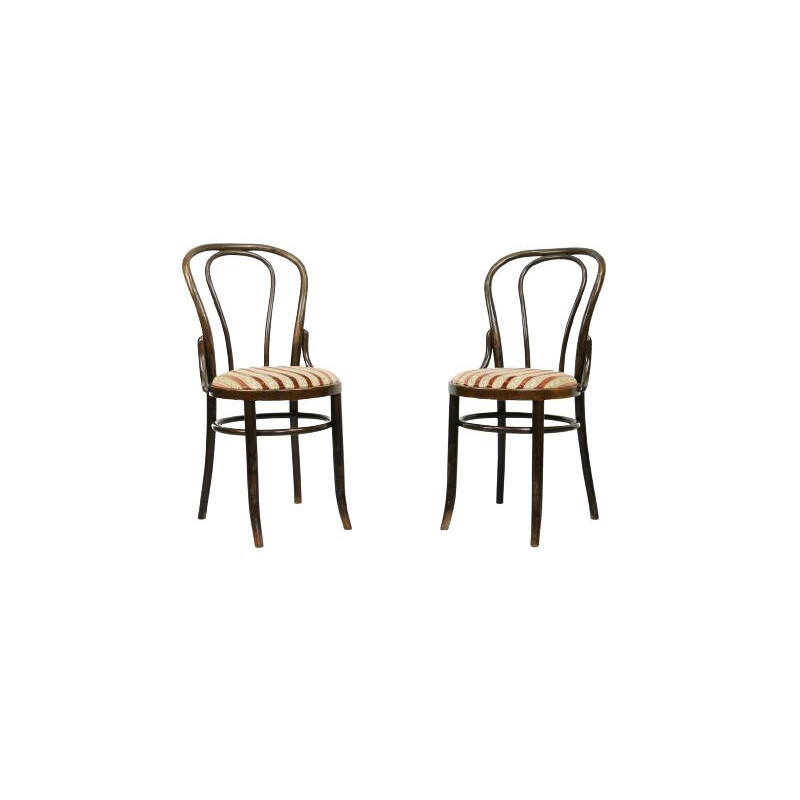 Pair of vintage dining chairs Thonet