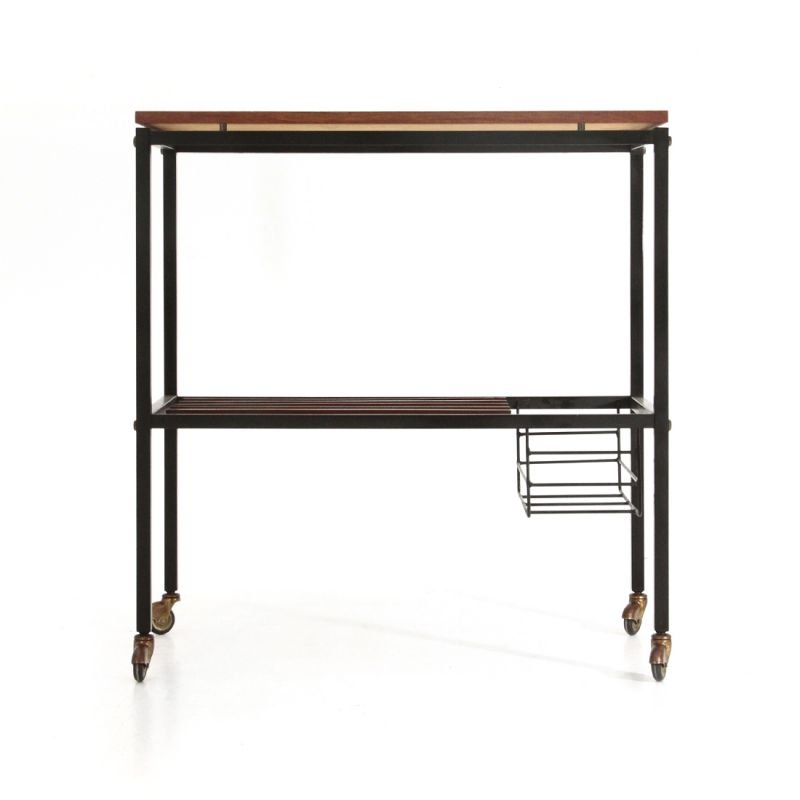 Vintage Trolley with  shelves by Zuanelli Mobili 1960s