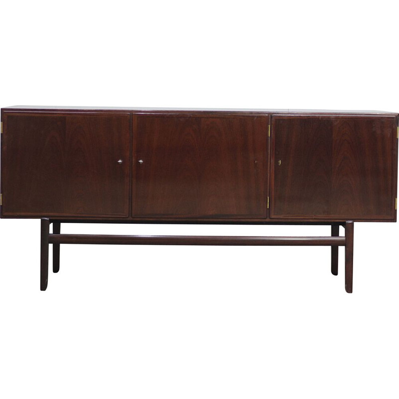 Vintage mahogany sideboard by Ole Wanscher for Poul Jeppesen Rungstedlund 1960