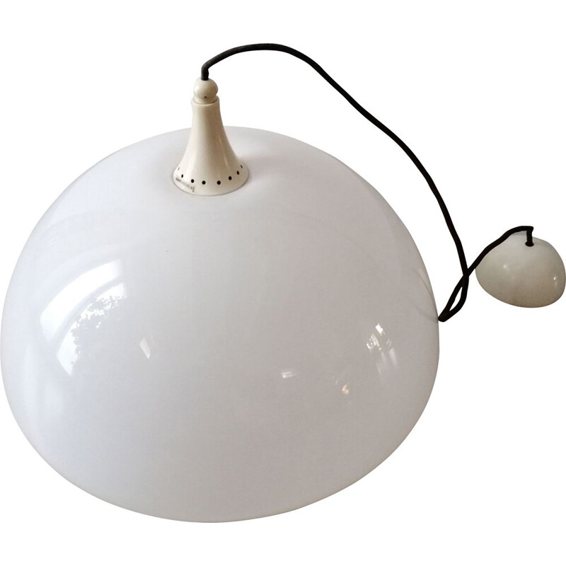 Vintage Martineli lamp by Luce hanging 1970s