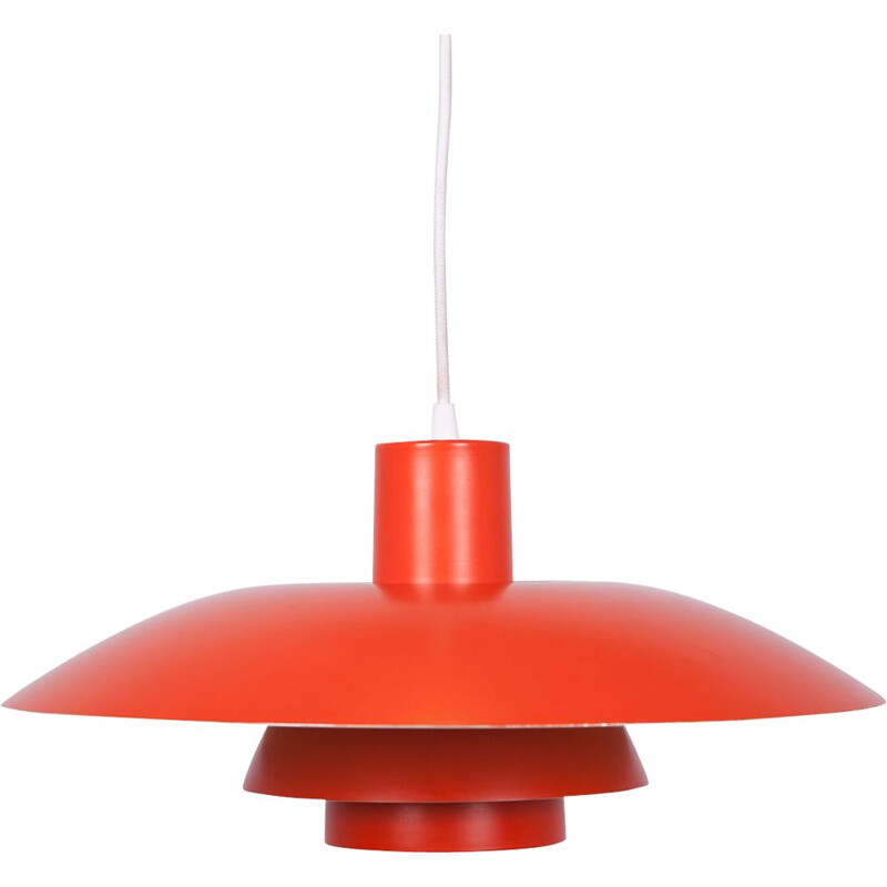 Vintage PH4 Pendant Lamp by Poul Henningsen for Louis Poulsen, Danish 1960s