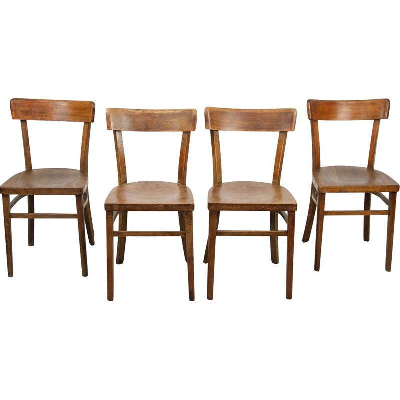 Pair of vintage Regular Thonet Dining Chairs