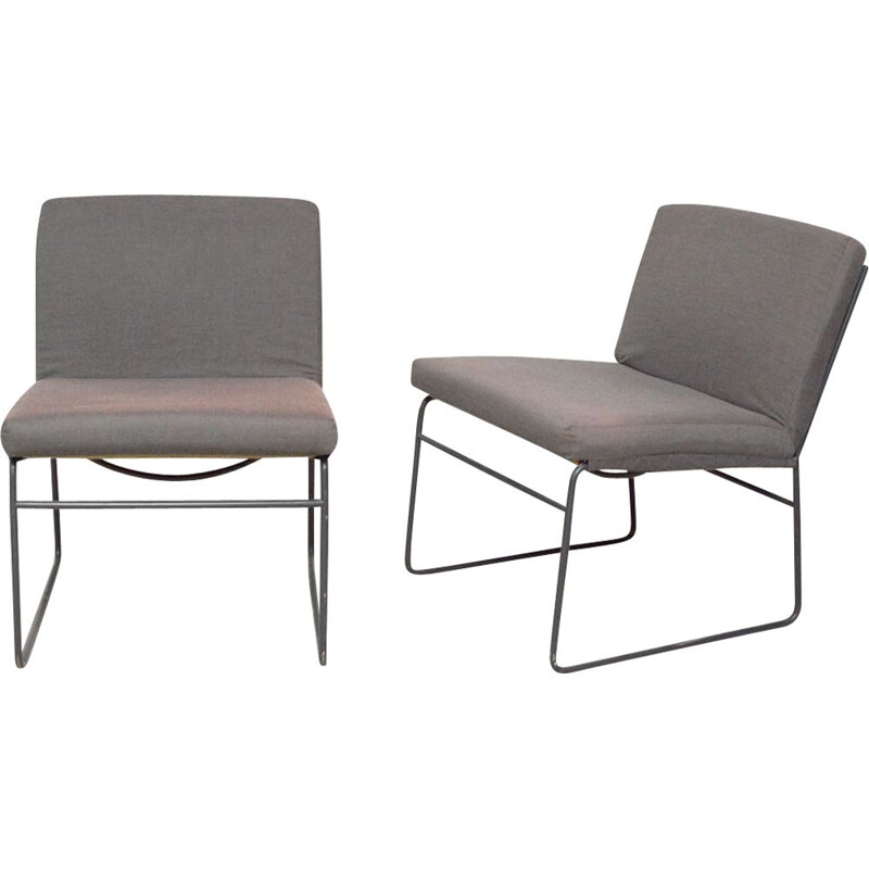 Pair of vintage Knoll armchairs 1960s
