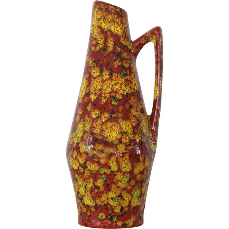 Vintage Vase by Heinz Siery for Scheurich, West Germany 1960s