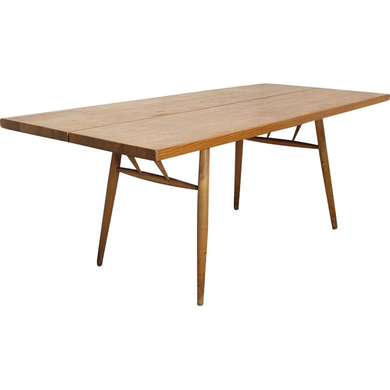 "Vintage table ""Pirkka"" by Ilmari Tapiovaara, Scandinavian 1950s"