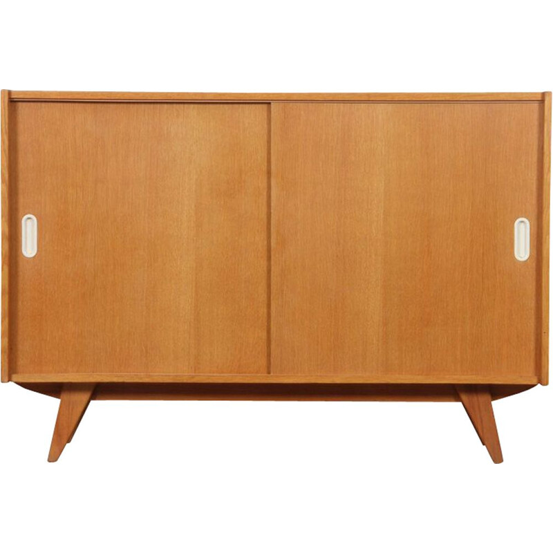 Vintage wooden chest of drawers by Jiri Jiroutek, model U-452, 1960