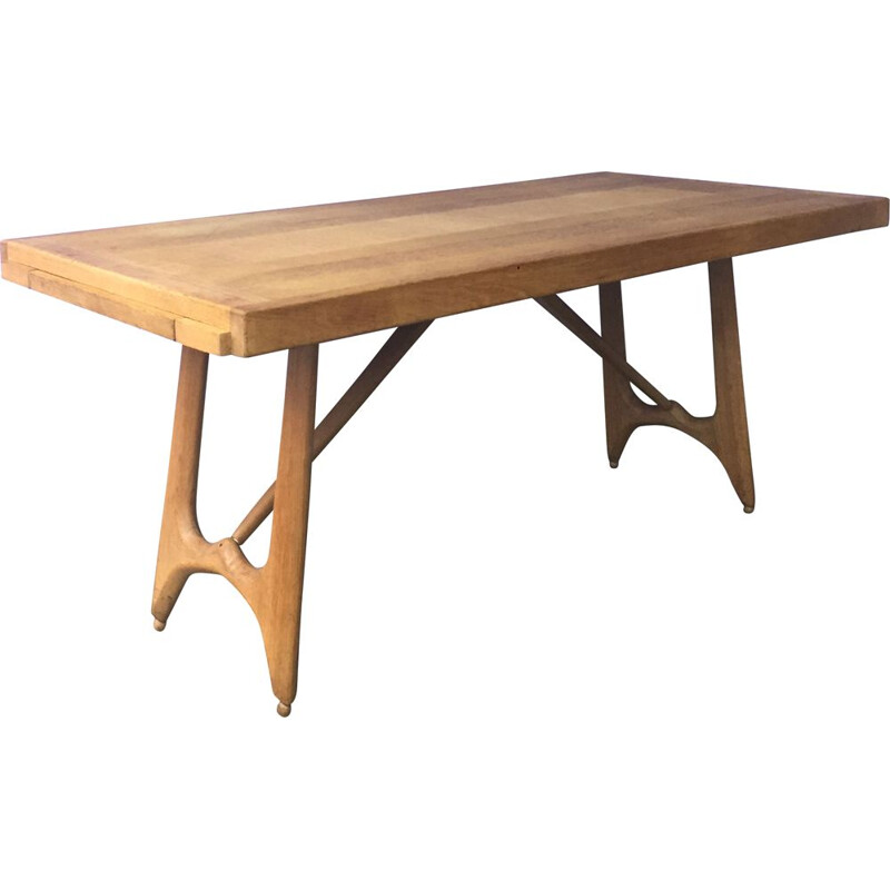 Vintage table Guillerme Chambron