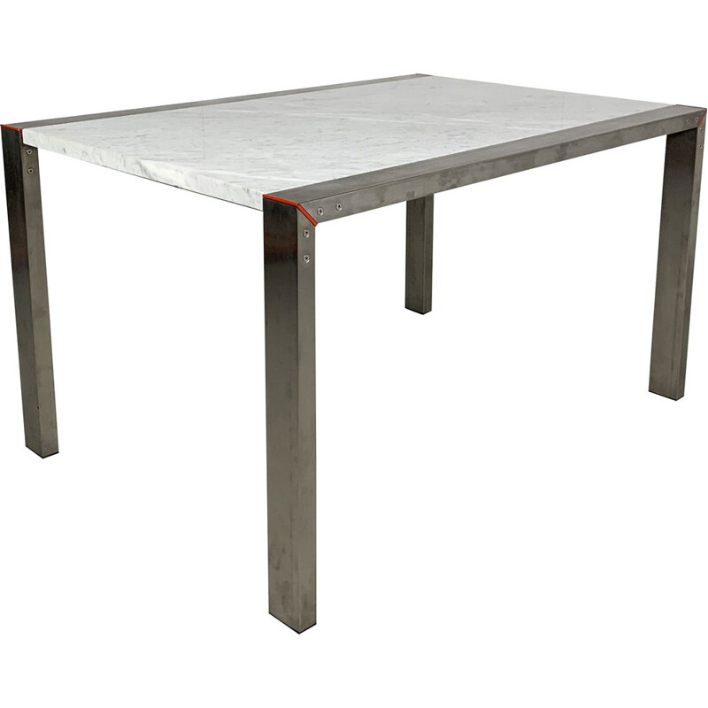 Vintage Dining Table Etra Marble by Gae Aulenti for Snaidero, 1990s