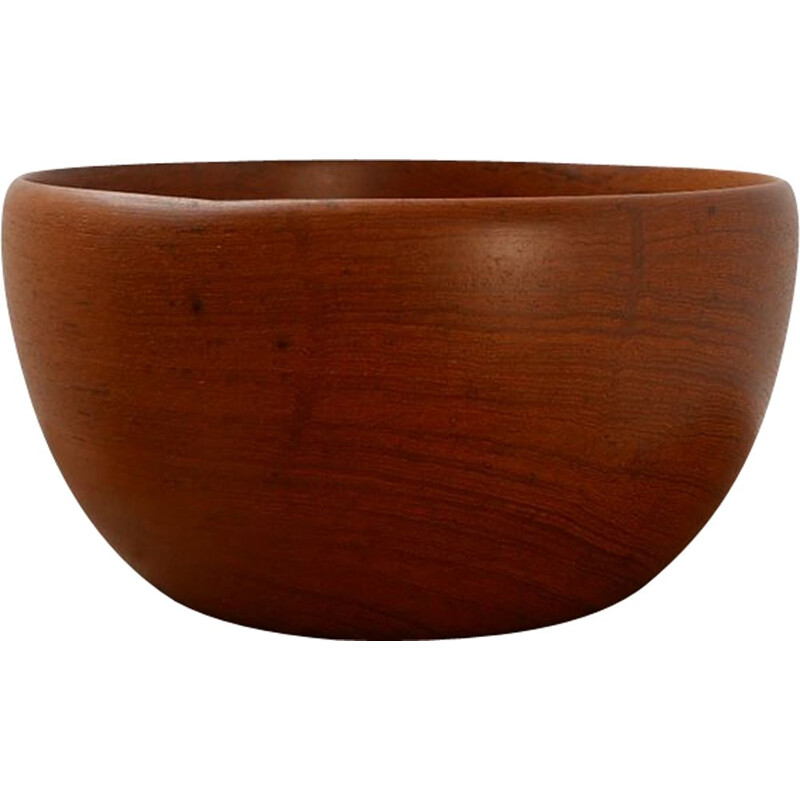 Mid-Century Teak Bowl Swedish 1968