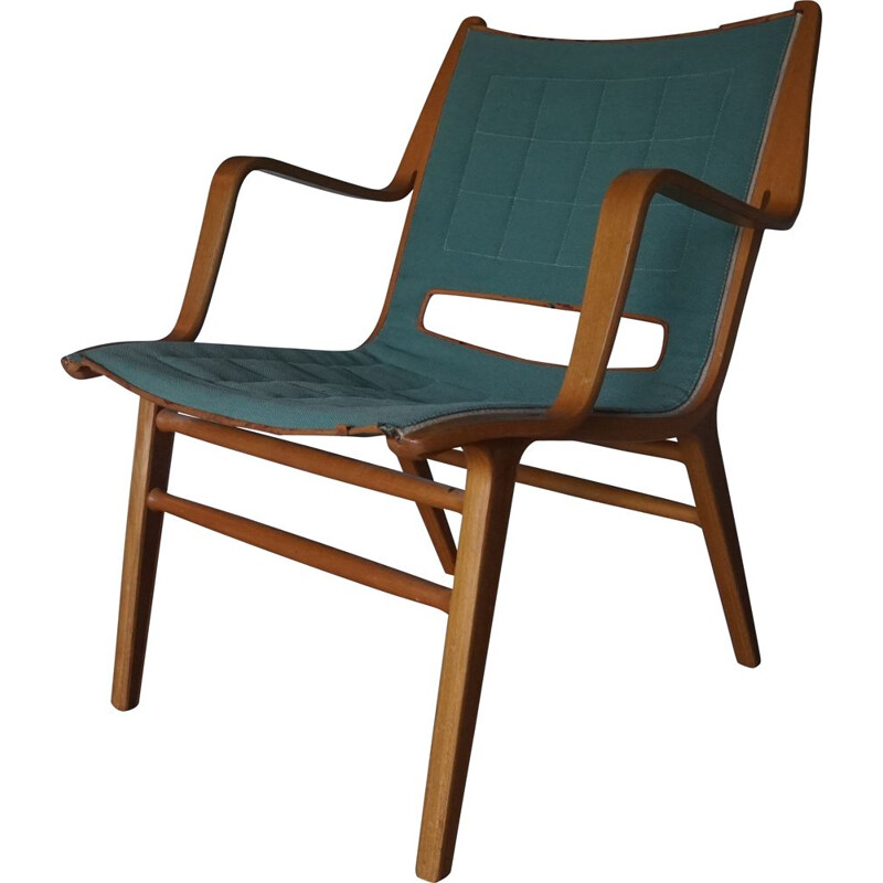 Vintage AX Chair by Peter Hvidt & Orla Molgaard for Fritz Hansen 1950s