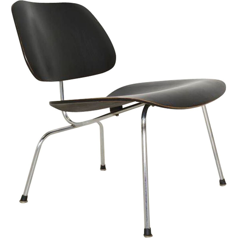 Vintage LCM Herman Miller Chair by Ray & Charles Eames 1950s