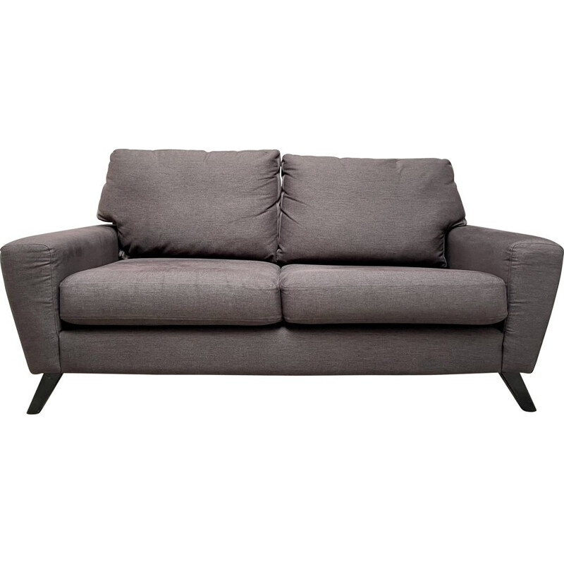 Vintage G Plan 2 Seater Sofa Settee Grey, UK