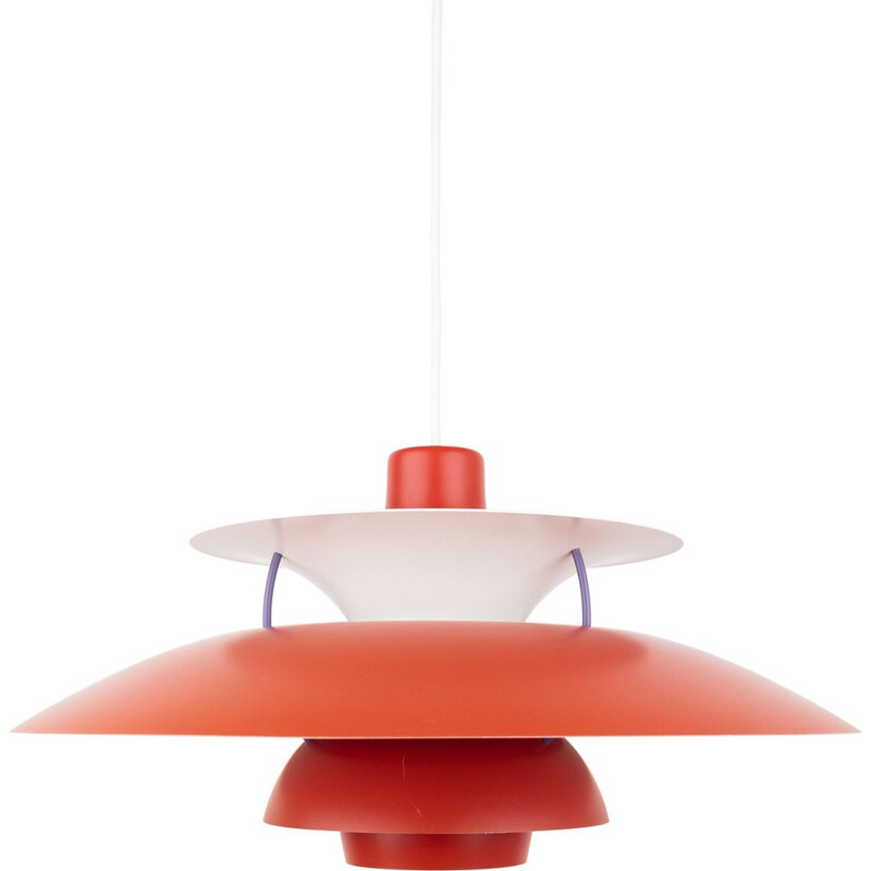 Vintage pendant lamp PH 5 by Poul Henningsen & Louis Poulsen, Danish 1958s