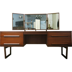 Mid-Century White & Newton dressing table in teakwood - 1960s