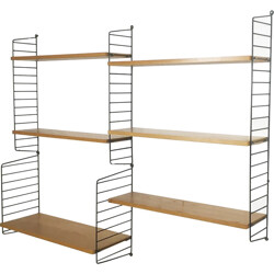 String Furniture modular wall unit, Nisse STRINNING - 1960s