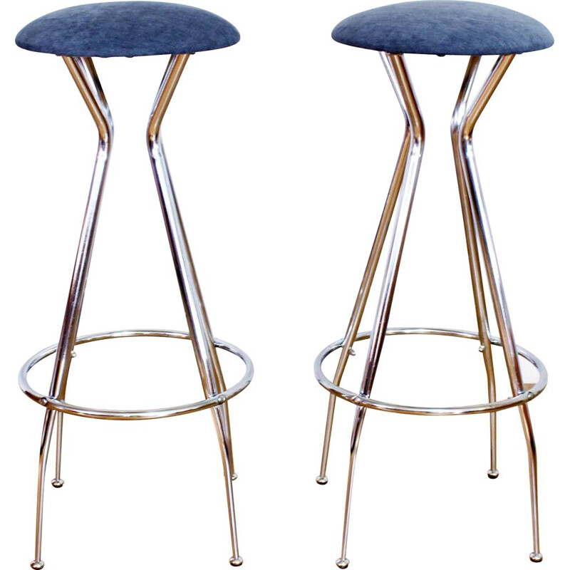Pair of vintage stools 1950s