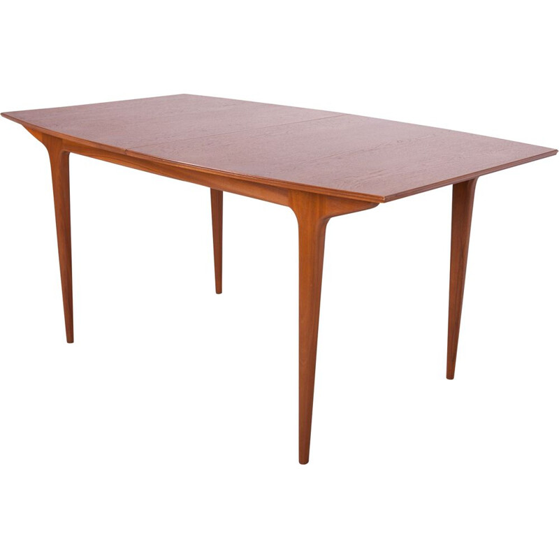 Vintage Teak Extendable Dining Table from McIntosh, Scotland 1960s