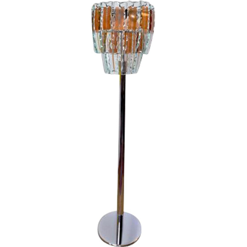 Vintage floor lamp by Fontana Arte, Italy 1960s