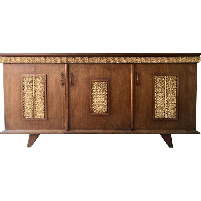 Vintage sideboard by Audoux-Minet 1950s