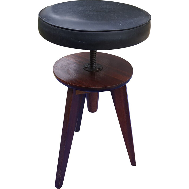 Vintage Adjustable stool, Scandinavian