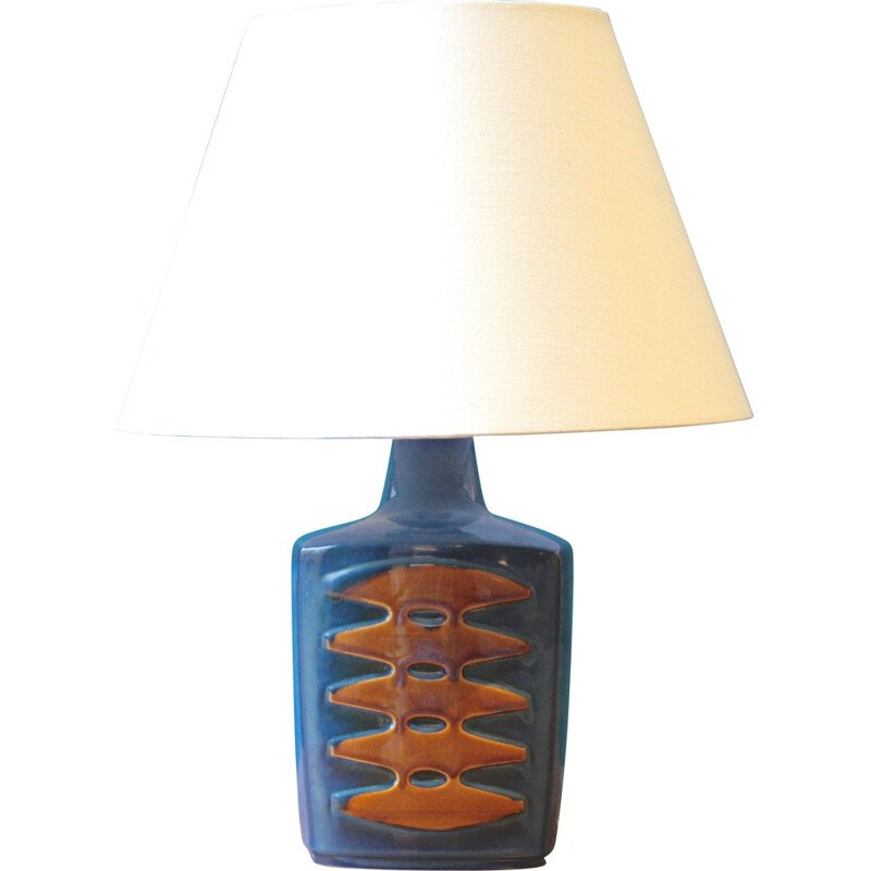 Large Danish Soholm Stentoj table lamp in ceramic, Einar JOHANSEN - 1960s