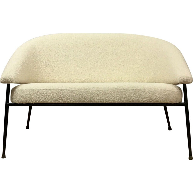Vintage 2-seater sofa by Cabrol Maurice for Malita, France 1960s