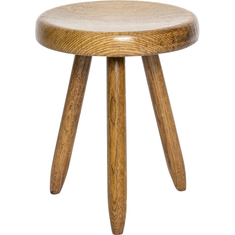 Vintage Charlotte Perriand stool by Steph Simon