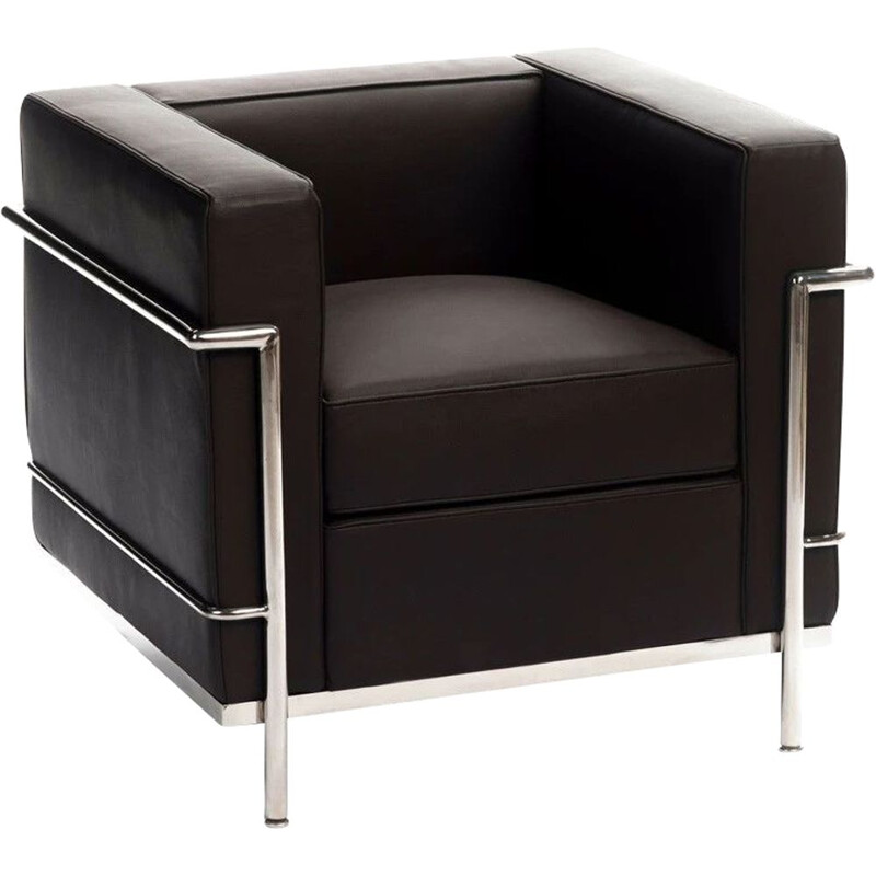 Vintage LC 2 club chair Le Corbusier by cassina 1929s