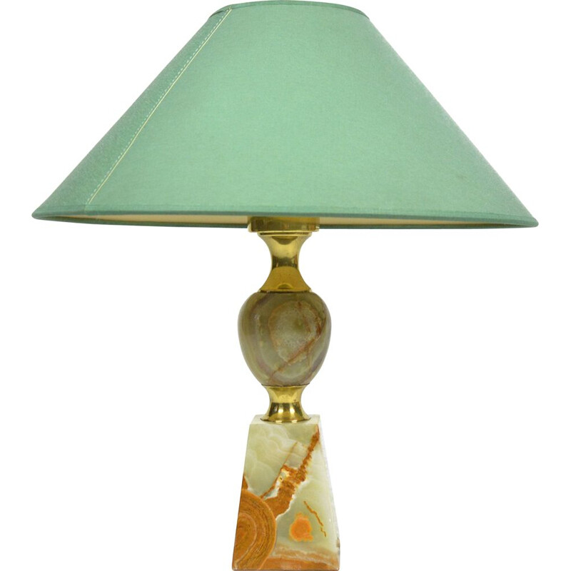 Vintage Alabaster table lamp, Italy 1950s