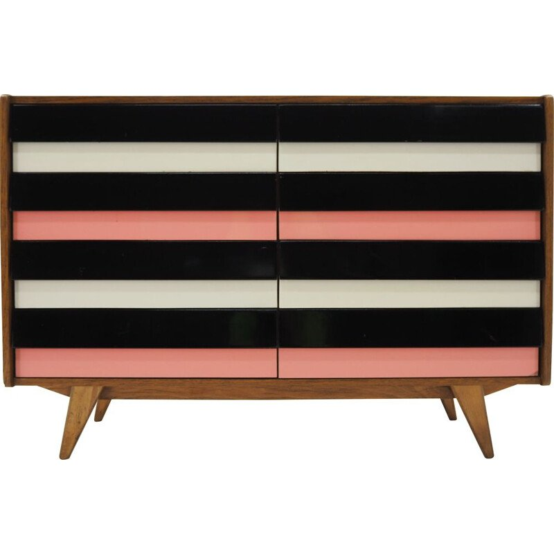 Vintage Jiri Jiroutek Chest of Drawers, Czechoslovakia 1960s