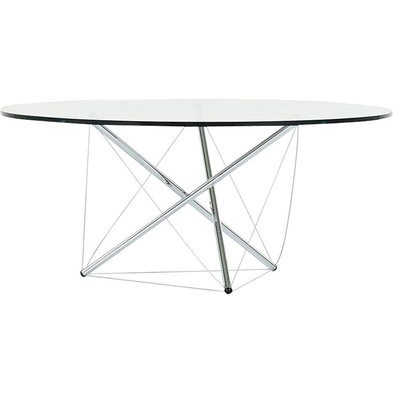 Vintage Coffee table Theodore Waddell for Cassina 1970s