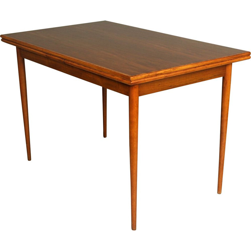 Vintage Extendable Dining Table, Czech 1970s