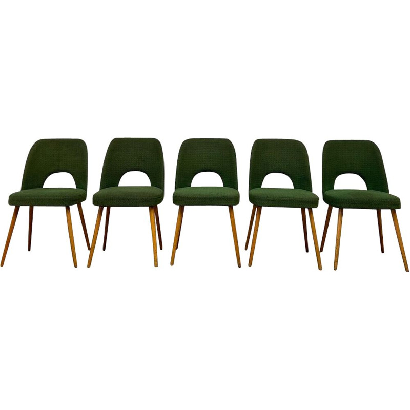 Vintage chairs by Oswald Heardtl, Czech republic 1960s
