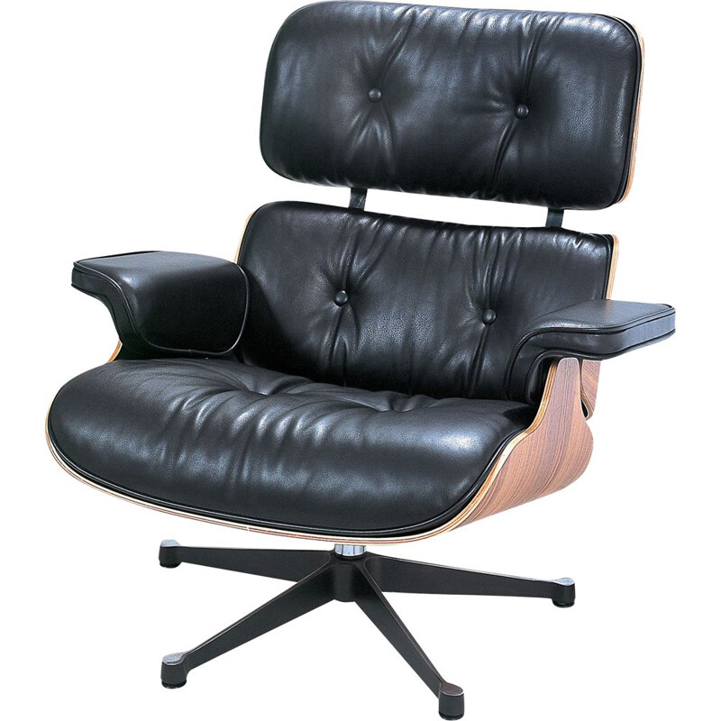 Vintage Lounge Chair by Charles Eames 1970s