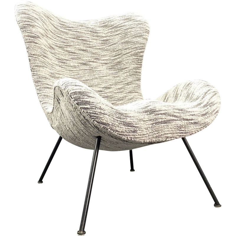 Vintage Lounge Chair by Fritz Neth for Correcta