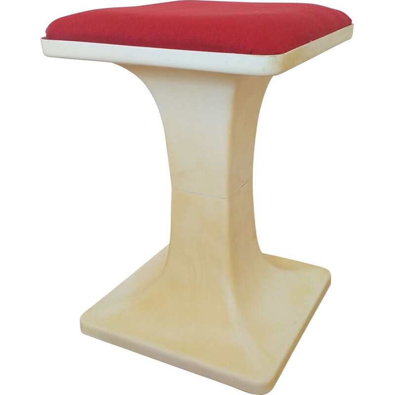 Vintage Tulip Stool or Tabouret, Germany 1970s